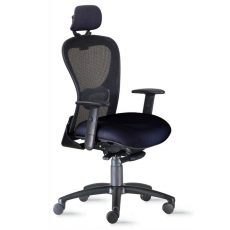 High Back Black Mesh Task Chair
